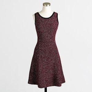 J Crew Factory Tweed Knit Sleeveless Dress 12
